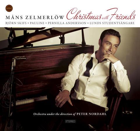 """Måns Zelmerlöw """"Christmas with Friends"""" – årets stora julskiva."""