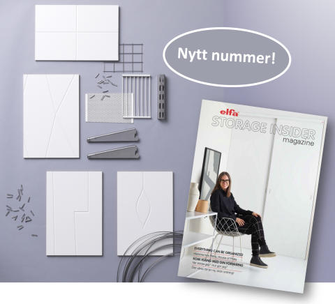 Nytt nummer av Elfa The Storage Insider magazine