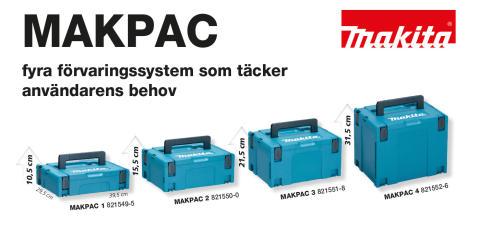 MAKPAC - Nytt förvaringssystem