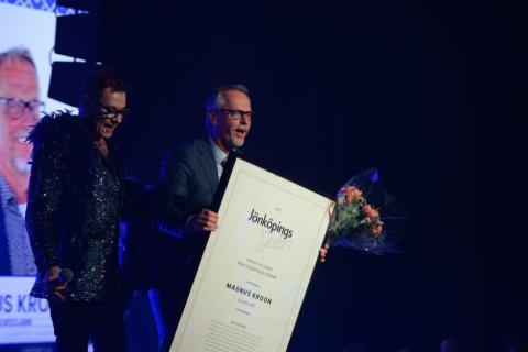 Elkedjan prisat för sitt digitaliseringsarbete vid Jönköpingsgalan 2019