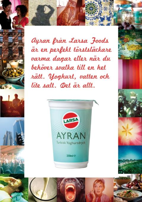 Sveriges första Ayranbar!
