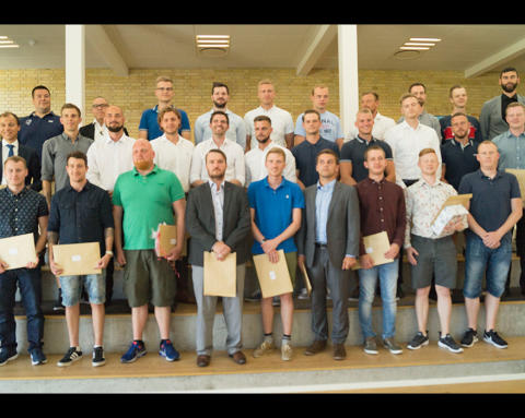 30 nye maskinmestre dimitterer fra MARTEC
