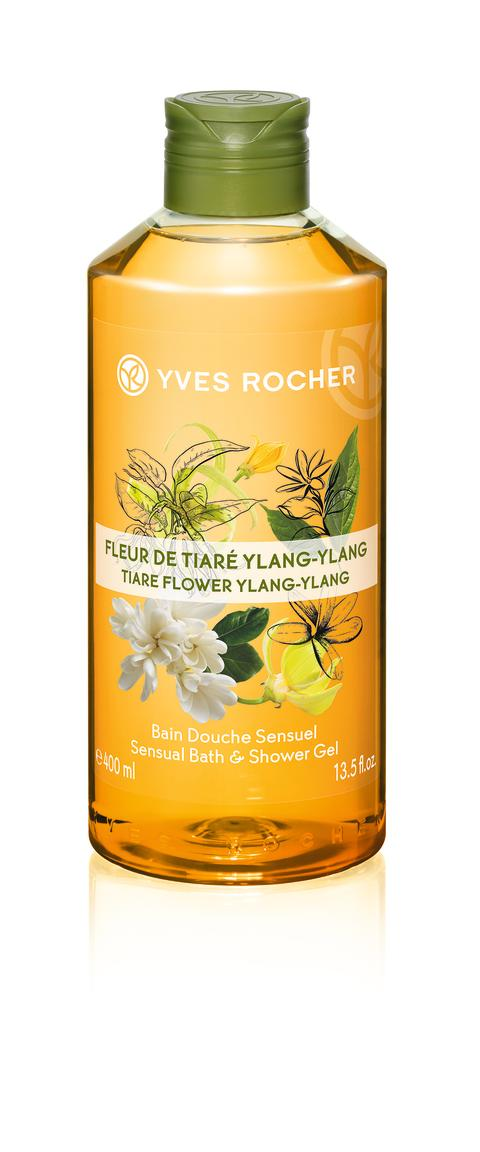 Bath & Shower Gel Tiare Flower Ylang-ylang