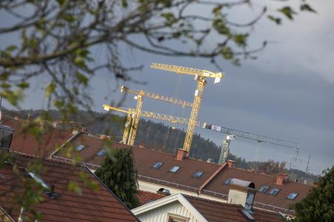 Byggkranar Göteborg