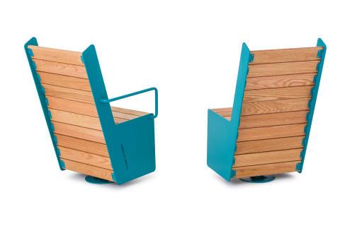 High Swivel Chair, design Mats Aldén