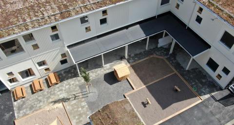 Förskolan i stadsdelen Vega i Haninge