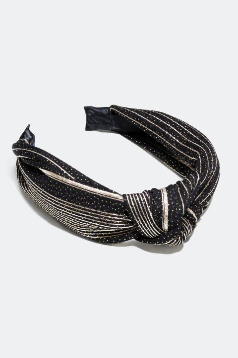 Diadem med knut