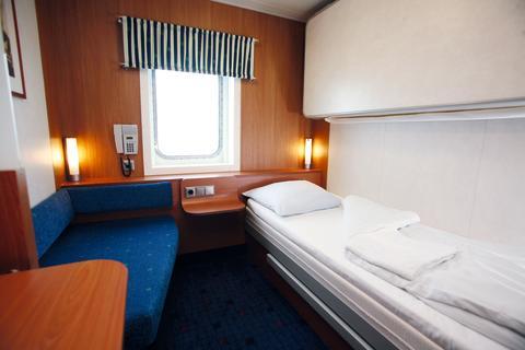 Standard 2 Bett Kabine mit Meerblick