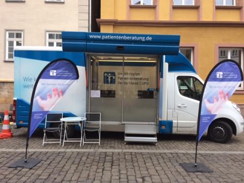 Beratungsmobil der Unabhängigen Patientenberatung kommt am 9. August nach Lauterbach.