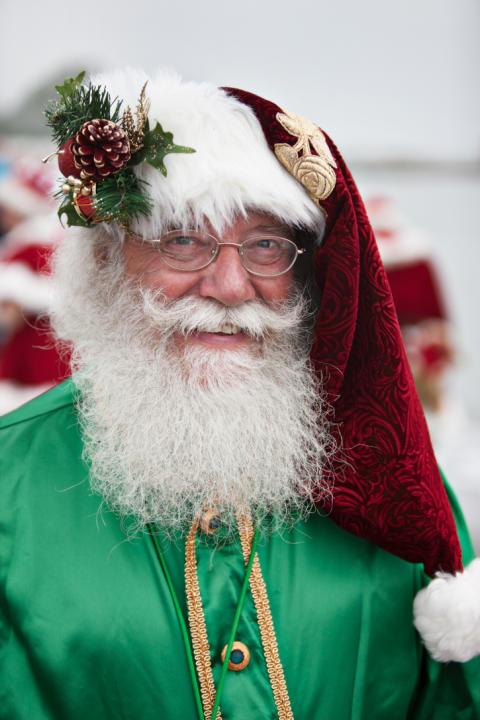 Julemand på Bakken