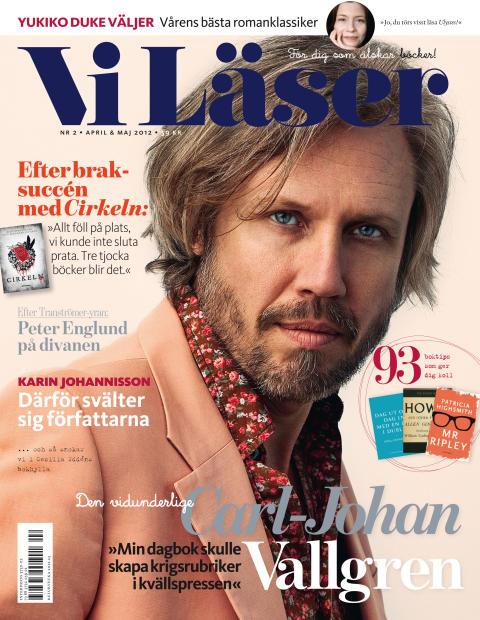 Vi Läser nr 2/2012: Vi möter svältkonstnärer, Burmas profet och Carl-Johan Vallgren.