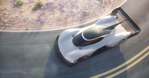 I.D. R – Volkswagen presenterar eldriven tävlingsbil för Pikes Peak