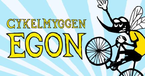 MØD CYKELMYGGEN EGON I LYNGBY STORCENTER