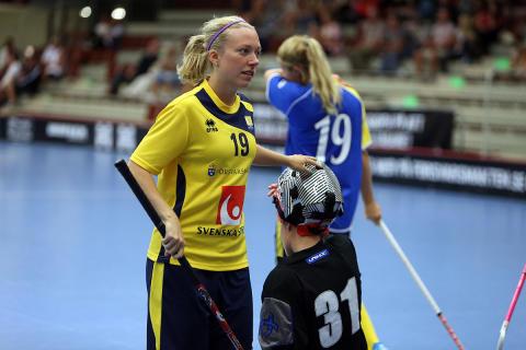 Lindström fyramålsskytt när Sverige vann