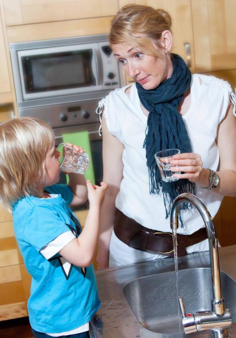 Klorering av dricksvattnet i Bjuv