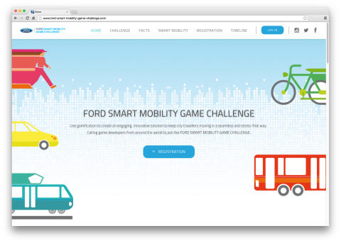 Ford Smart Mobility Game Challenge