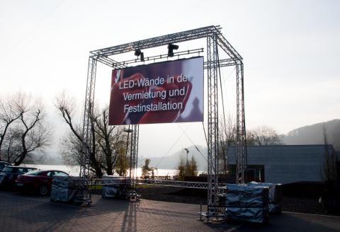 """visualounge experience """"LED-Videowalls in Festinstallation und Miete"""" komplett ausgebucht"""