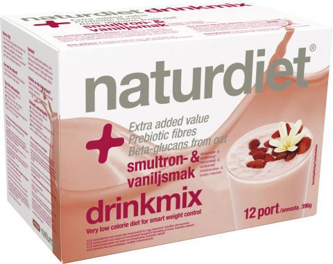 Viktigt meddelande till jordnöts- och sesamallergiker om Friggs Naturdiet Drinkmix Smultron & Vanilj
