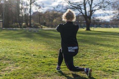 Välkommen till ett träningspass med Vitamin Wells Sara Liljeros!