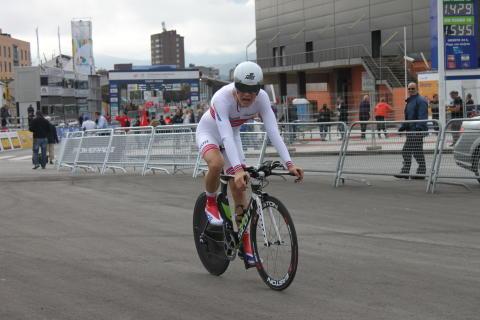 Tobias Foss etter temporittet i VM 2014