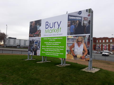 ​Bury Market brings in record number of coach visits