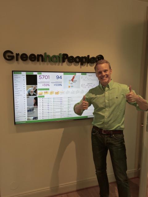 Robin Tuorda, ny affärsutvecklare Green Hat People
