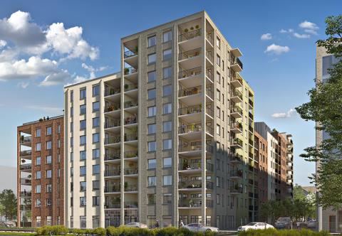 Nu släpps 68 nya bostäder i centrala Örebro