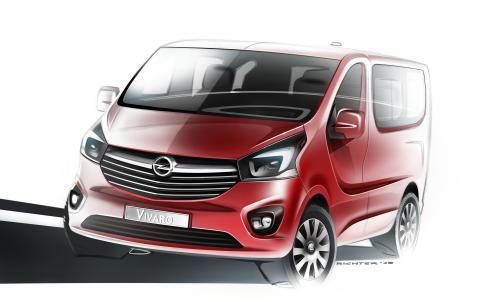 En första titt på helt nya Opel Vivaro