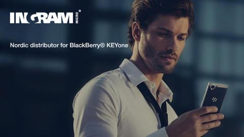 Ingram Micro bliver forhandler af den nye prisvindende BlackBerry® KEYone