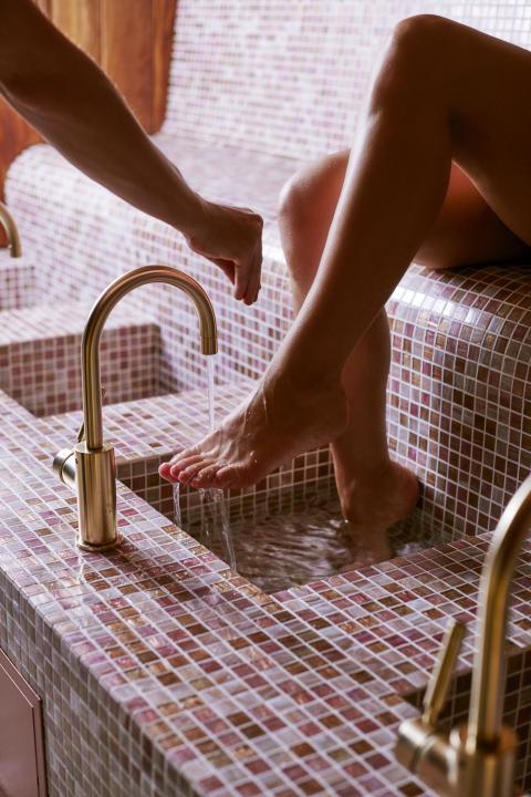 The Lodge Footbath Honulele Spa