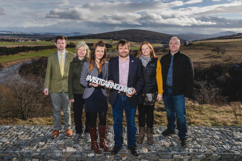 The Cairngorms are going global!