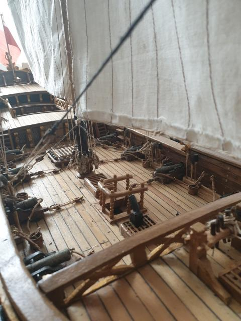 The model of HMY Mary