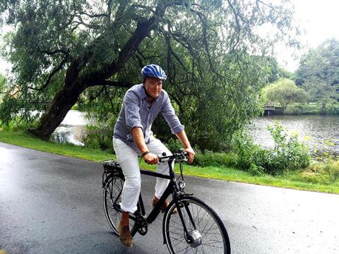 Anta utmaningen och ta elcykeln till jobbet