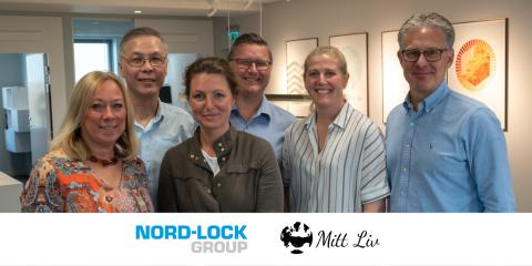 Nord-Lock Group och Mitt Liv inleder långsiktigt samarbete för en arbetsmarknad som uppskattar mångfald