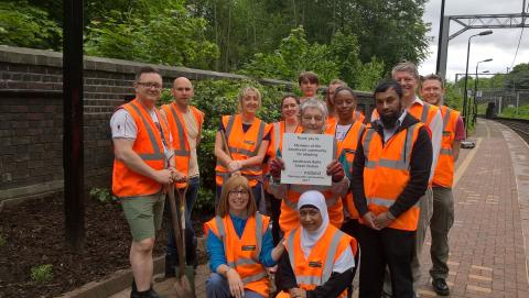Diverse community comes together to transform Smethwick Rolfe Street station