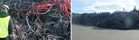 Hållbar återvinning av plastkablar