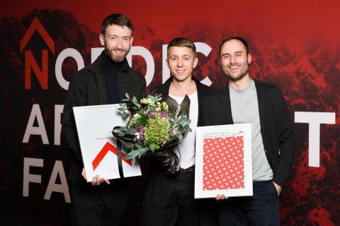 Snabba Hus vinnaren av Nordic Architecture Fair Award