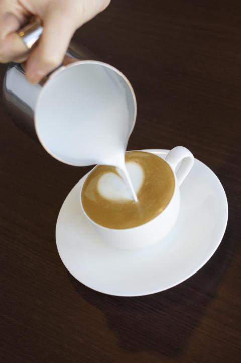 Så fixar du kaffehjärtat - Steg 4