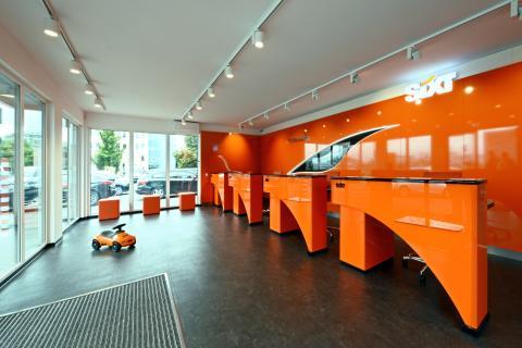 Das neue Sixt Servicezentrum in Modulbauweise - Innenansicht