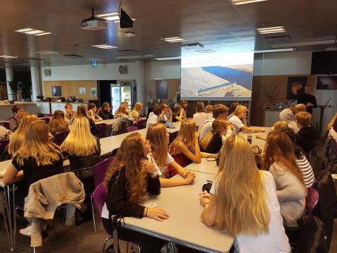 Skoleelever inspirerer Telia