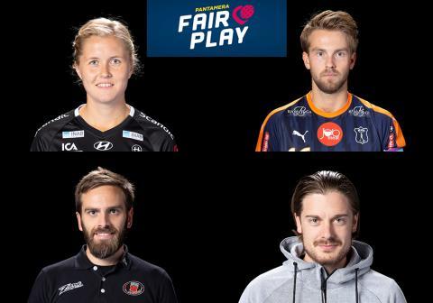 Fyra nya vinnare av Pantameras Fair Play-utmärkelse är utsedda!