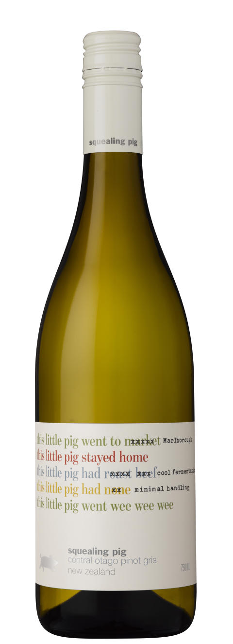Squealing Pig Central Otago Pinot Gris 2014