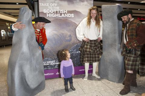 The Highlands come to Heathrow