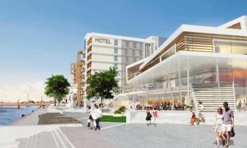 Midrocs nya hotell- och kongressanläggning i Helsingborg kommer att drivas av Nordic Choice Hotels