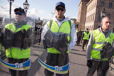 """""""Fel att inte kalla SvP nazister"""" - Daniel Poohl intervjuas av P4 Jönköping"""