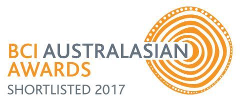 Shortlist announced for the BCI Australasian Awards