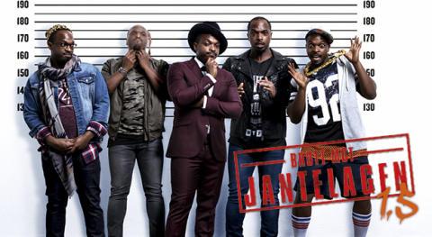 Kodjo Akolor på turné med sin hyllade standup-show Brott mot jantelagen 1.5