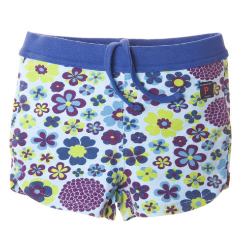 Shorts blå lila