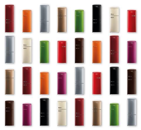 Gorenje Retro Collection - få lige den farve du ønsker dig - også til jul