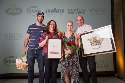 Hornuddens ekocafé är årets hållbara café